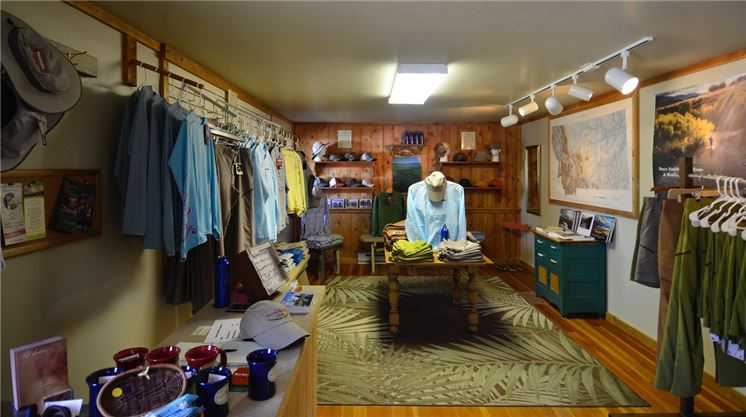 Fly shop interior healing waters lodge for Fly fishing shops near me