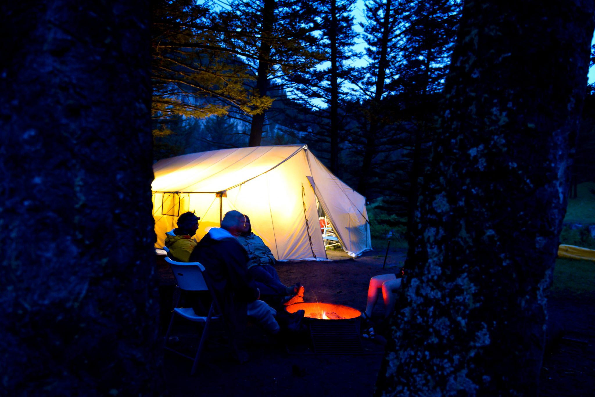 Fly Fishing Vacations · Smith ... & Smith River Dining Tent by FloatLeafStudios - Healing Waters Lodge